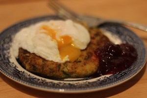 Bubble and Squeak with Poached Egg