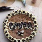 Giant Iced Cookie Cake