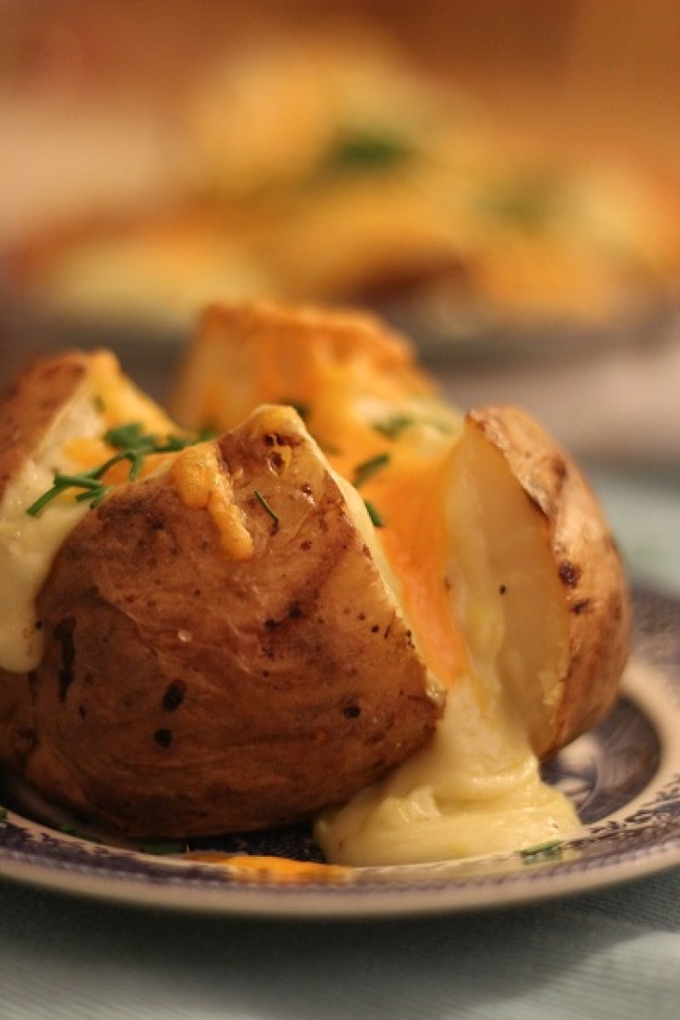The Ultimate Jacket Potato with Cheese