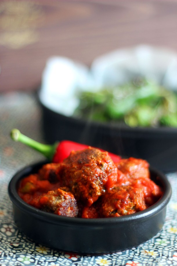 Chorizo Meatballs from Supper in the Suburbs