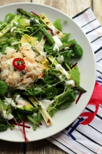 Crab and Avocado Salad from Supper in the Suburbs