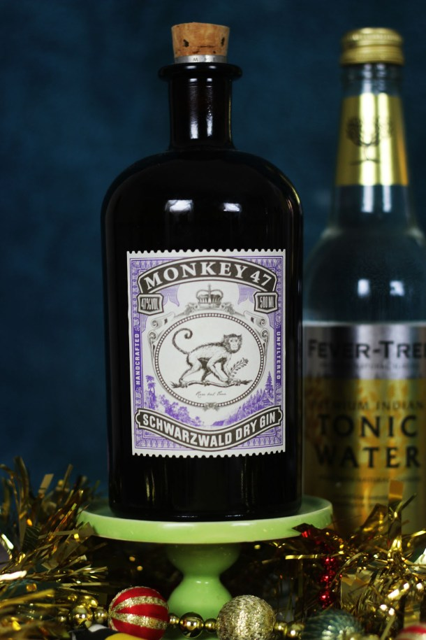 20 Gift Ideas for Gin Lovers - Monkey 47 is a wonderfully spiced gin with 47 botanicals hence the name