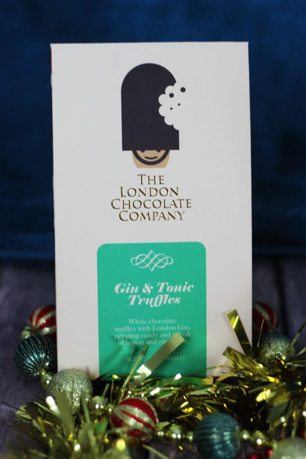 These Gin Truffles from The London Chocolate Co are the perfect stocking filler for a gin lover! Find more gift ideas in my Christmas Gift Guide for Gin Lovers at Supper in the Suburbs