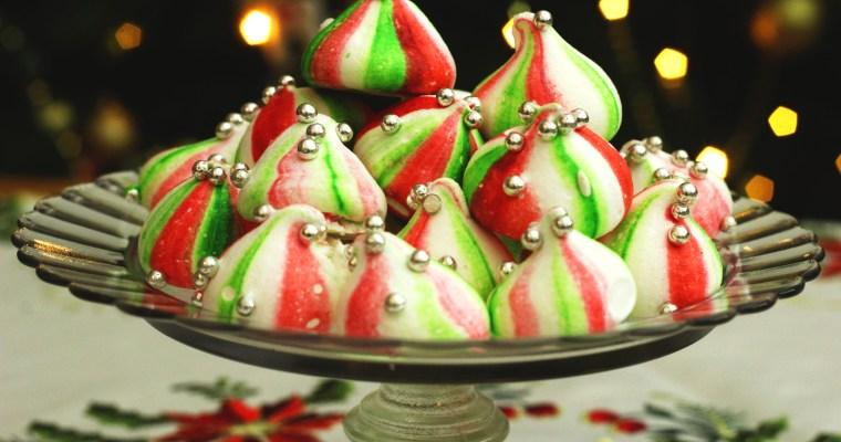 Christmas Elf Meringue Kisses
