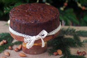 This rich and decadent Christmas Cake is in fact a Fig and Walnut Cake that can easily be whipped up just days if not the night before Christmas find out how at Supper in the Suburbs