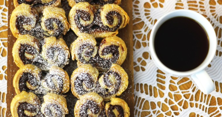 2 Ingredient Nutella Palmiers