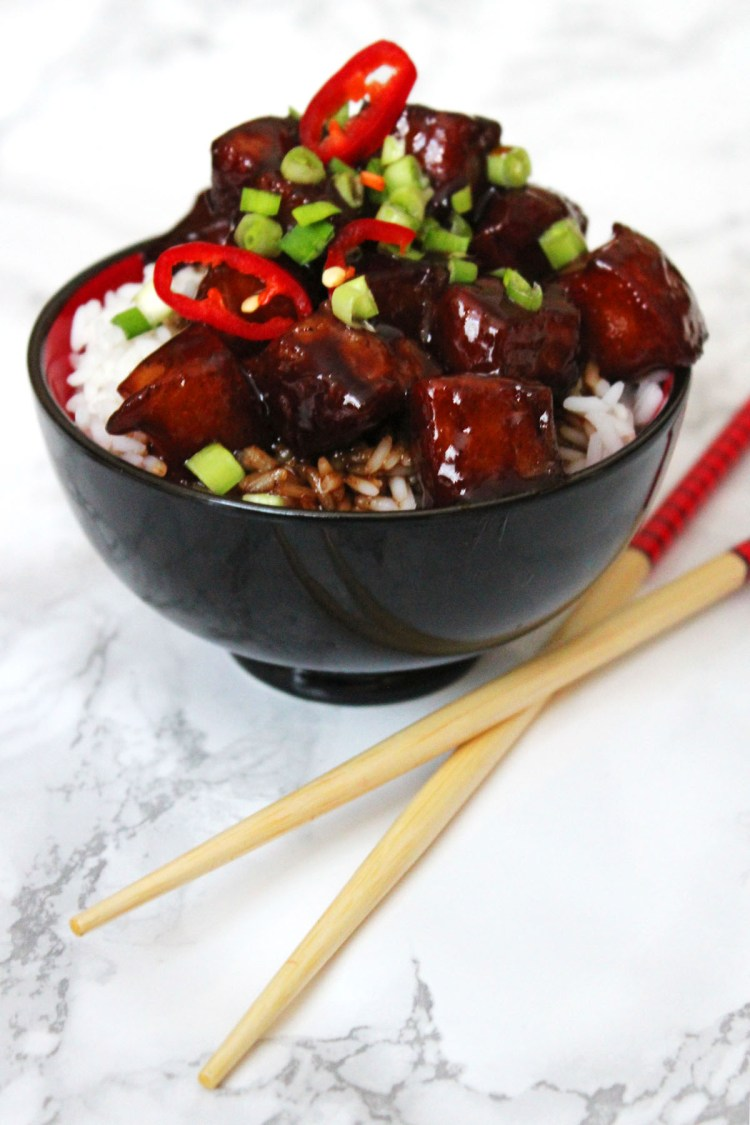 Celebrate Chinese New Year with Blue Dragon and a bowl of Sweet and Sticky Pork Belly Hong Shao Rou