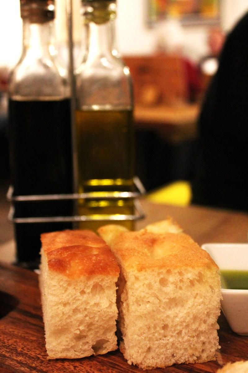 Freshly Baked Bread at Pasta Remoli