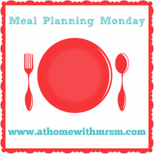 Meal Planning Resources - At Home with Mrs M