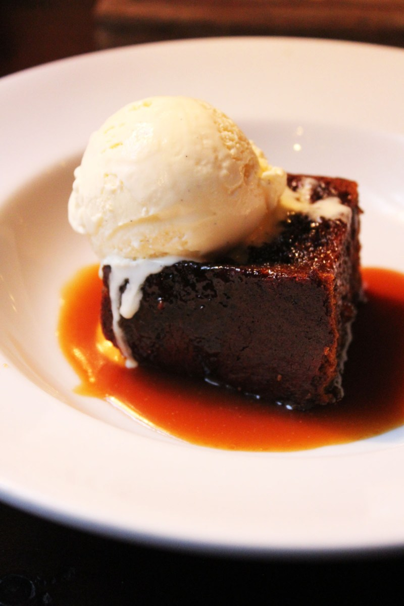 Sticky Toffee Pudding at The Ship Tavern