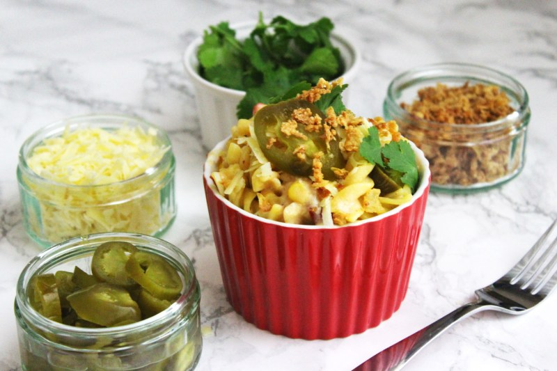 This killer recipe for Mexican Mac and Cheese is a real winner find the recipe at Supper in the Suburbs