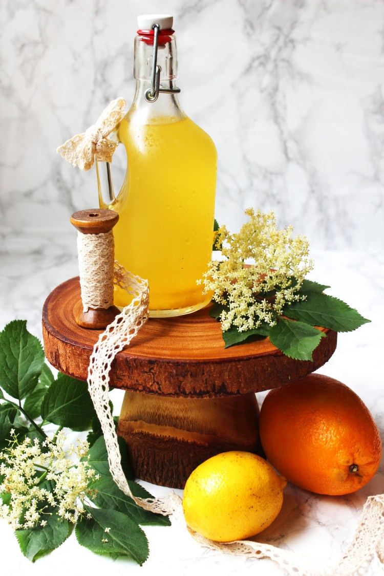Make Elderflower Cordial from scratch having foraged the flowers yourself. It's a sweet, refreshing summer drink that can be used in cocktails and cakes alike.