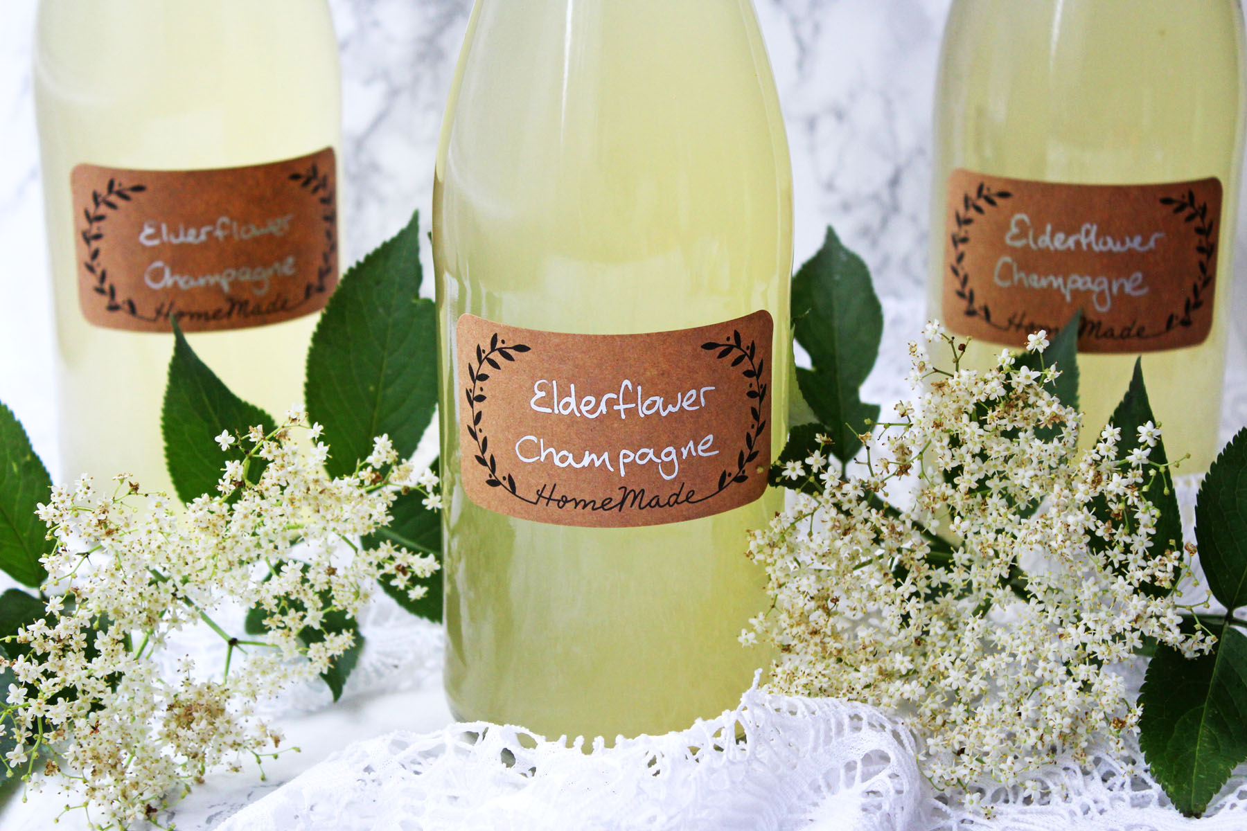 Elderflower Champagne