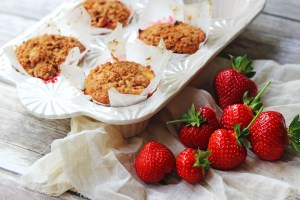 These Strawberry Cheesecake Muffins with Crumble Top make the most of fresh summer produce. Get the recipe for these tasty cakes over at Supper in the Suburbs