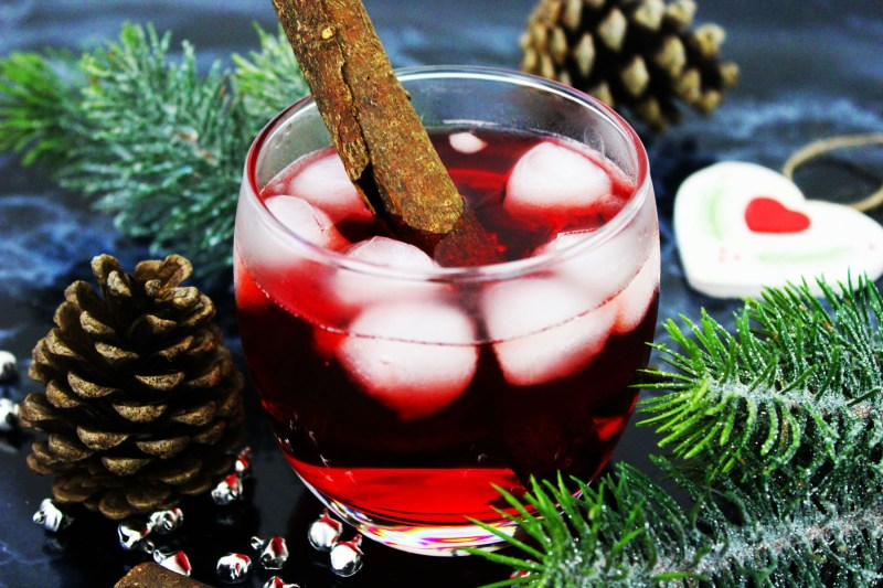 This Christmas Pine Negroni is a fun and festive twist on a classic cocktail. Serve this gin based drink with plenty of ice! Get the recipe at Supper in the Suburbs