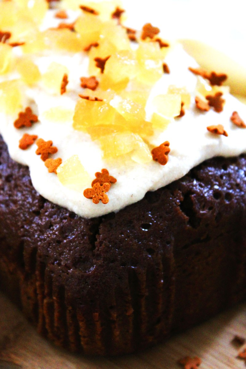 Ginger is the perfect, warming spice for the winter months. You'll find three types of ginger in this Gingerbread Loaf Cake topped with Cinnamon Cream Cheese Frosting! Get the recipe at Supper in the Suburbs.