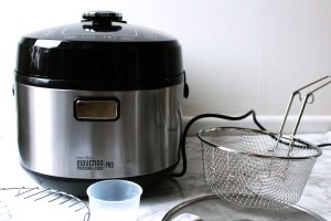 Froothie Optimum Pressure Cooker PRO Review from Supper in the Suburbs