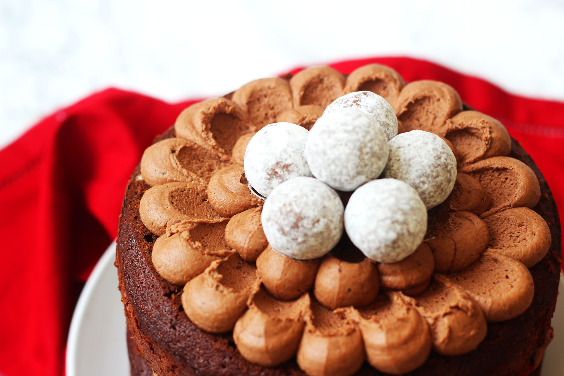 Chocolate Prosecco Cake