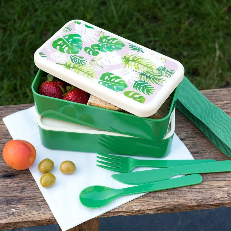 Tropical Palm Adult Bento Box from Rex London (previously Dotcomgiftshop)