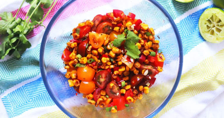 Fiery Roasted Corn Salsa