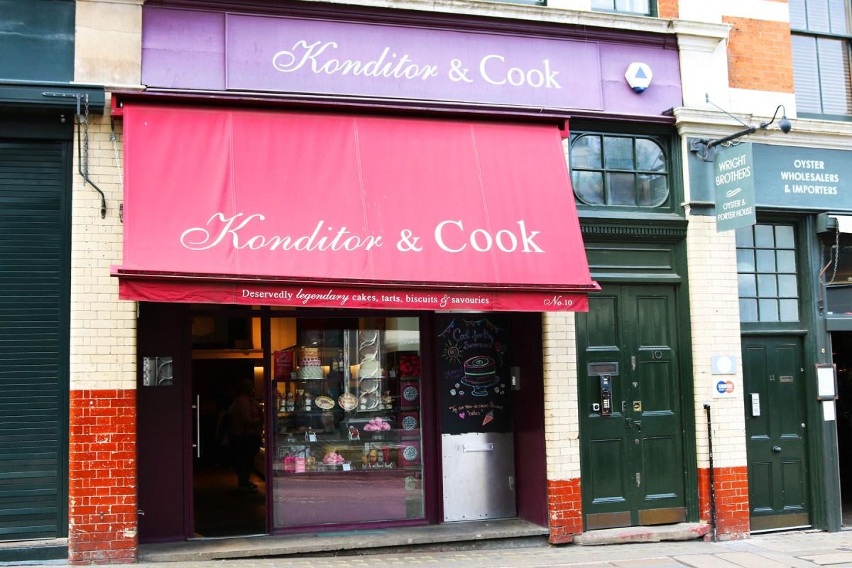 Konditor and Cook Borough Market Shop Front
