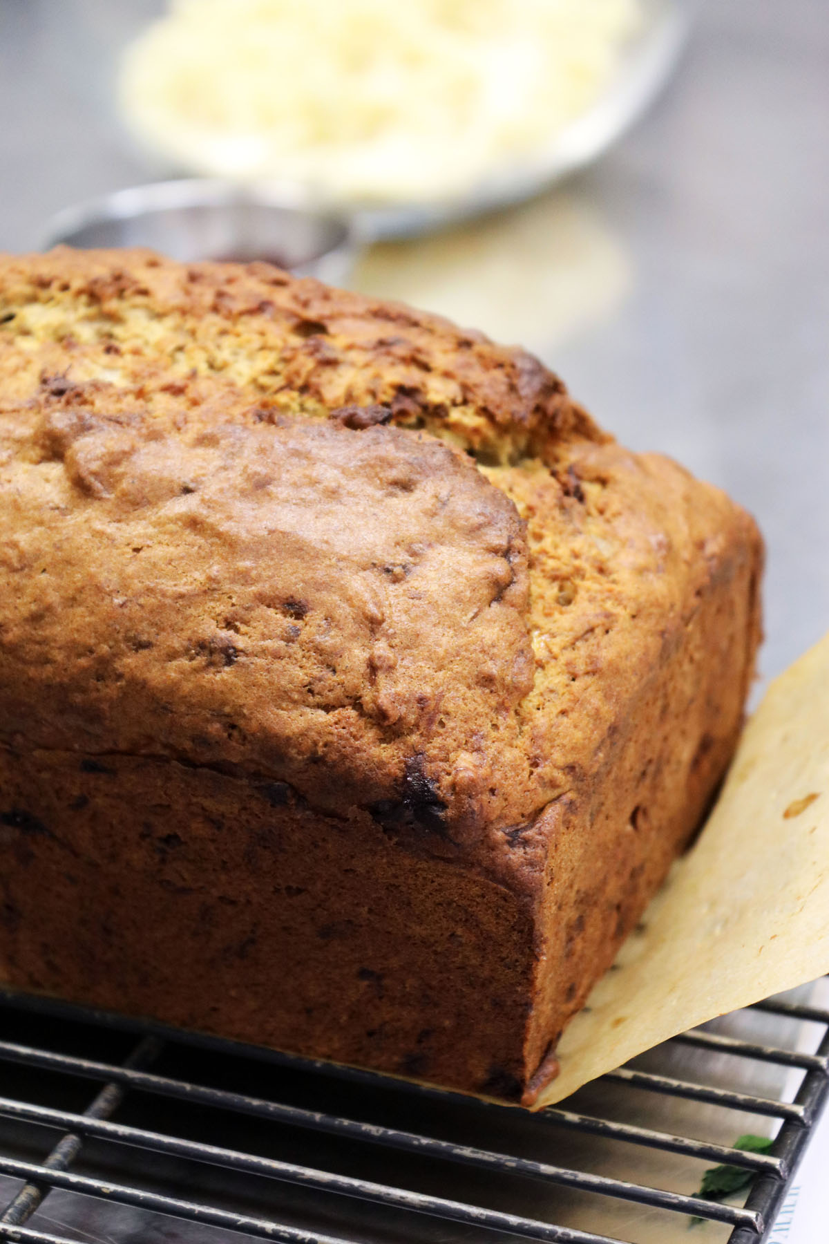 Overripe bananas make a great banana bread