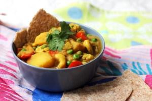 Vegan Cauliflower and Cashew Nut Korma
