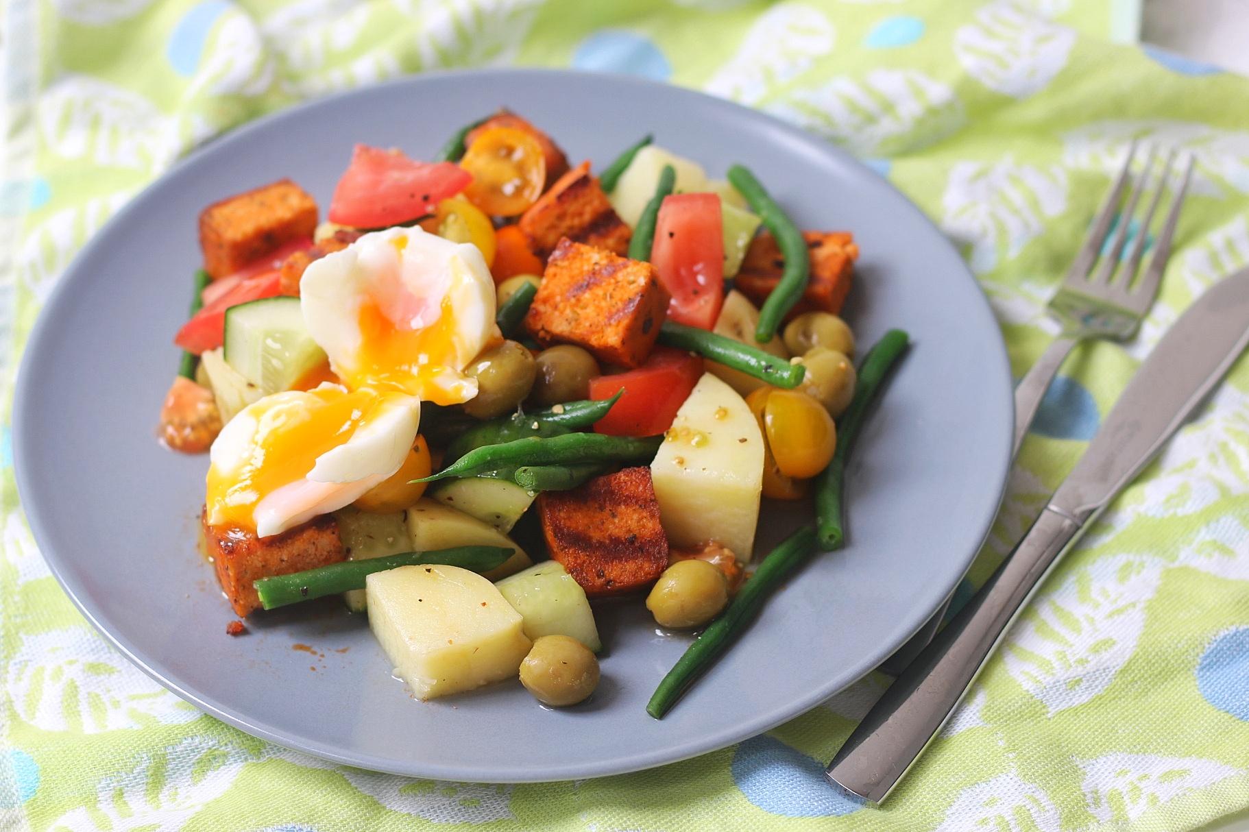 Tofu Nicoise Salad
