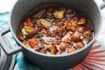 Vegan Mushroom Bourguignon is the perfect dinner party dish