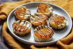 Mini Baked Orange and Ginger Cheesecakes (vegan)