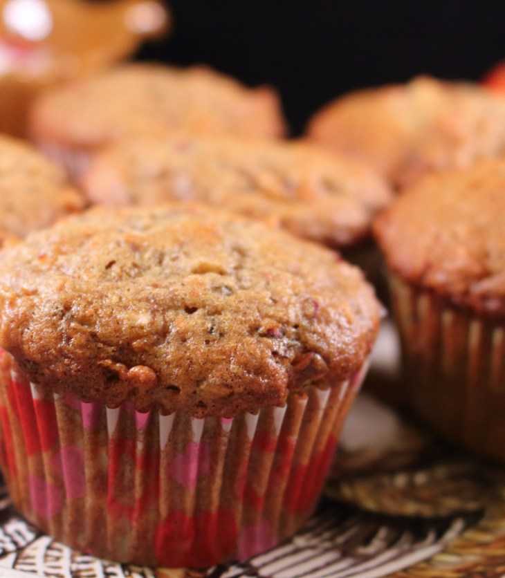Cranberry Apple Carrot Muffins