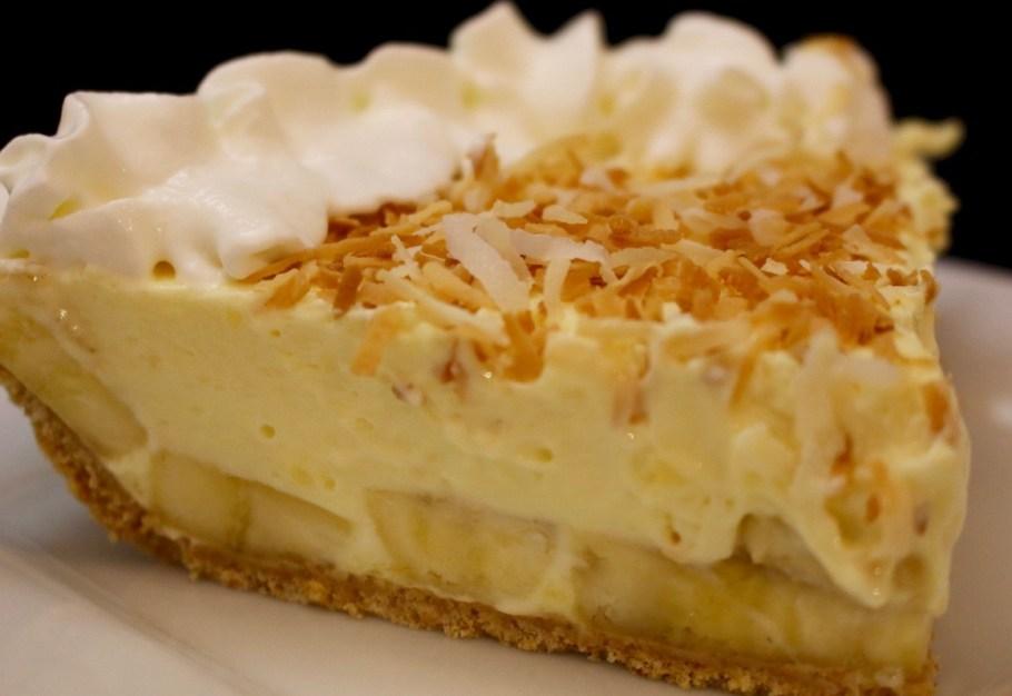 No Bake Banana Pudding Pie