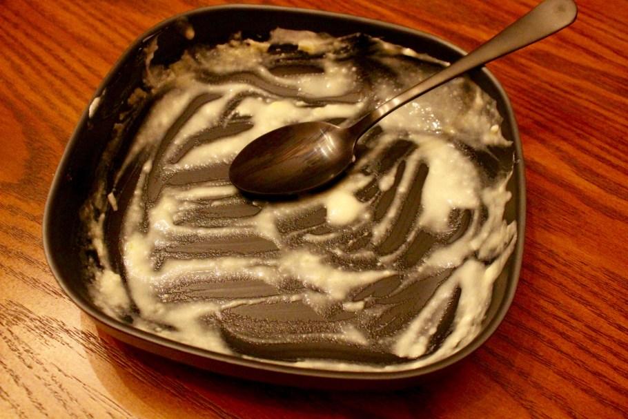 Potato Soup Empty Bowl