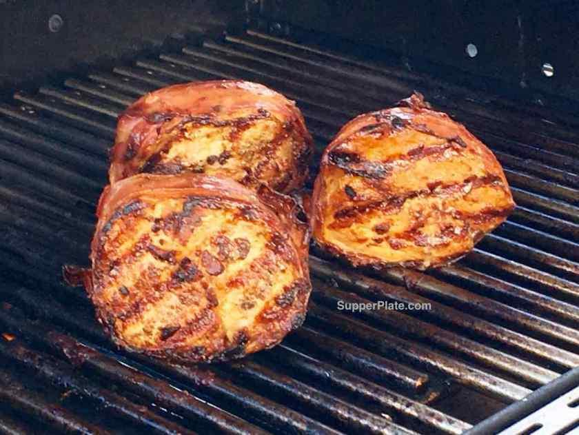 Grilled Prosciutto Wrapped Pork Tenderloin 6