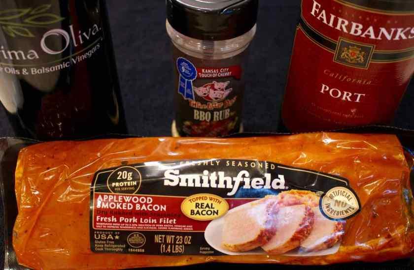 Prosciutto Wrapped Pork Tenderloin Ingredients