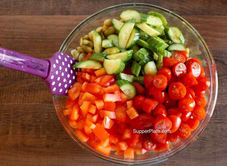 Garbanzo Bean Salad Step 2