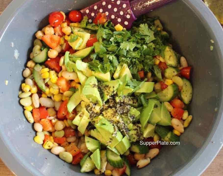 Garbanzo Bean Salad Step 3