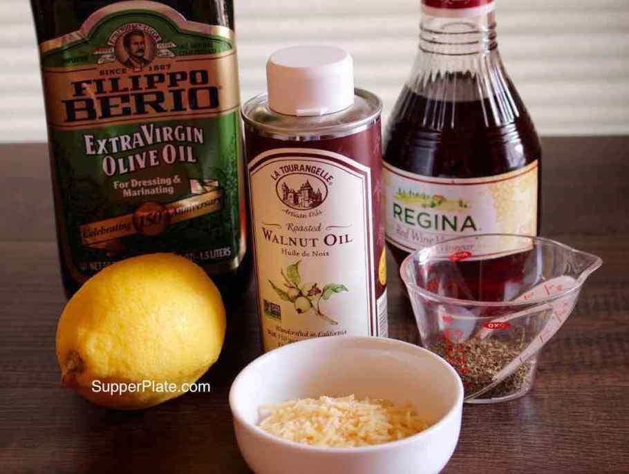 Red Wine Dressing Ingredients