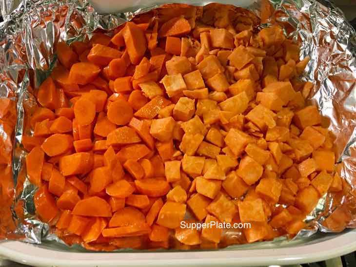 veggies before roasting