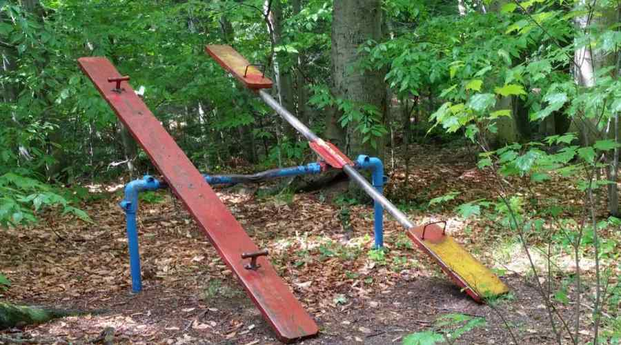 Chestnut Ridge Park teeter totter