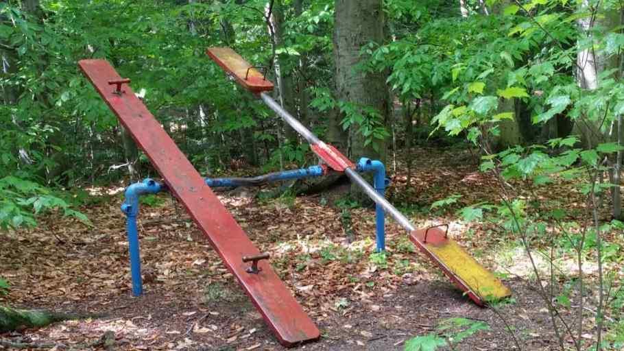 Chestnut Ridge Park teeter totter