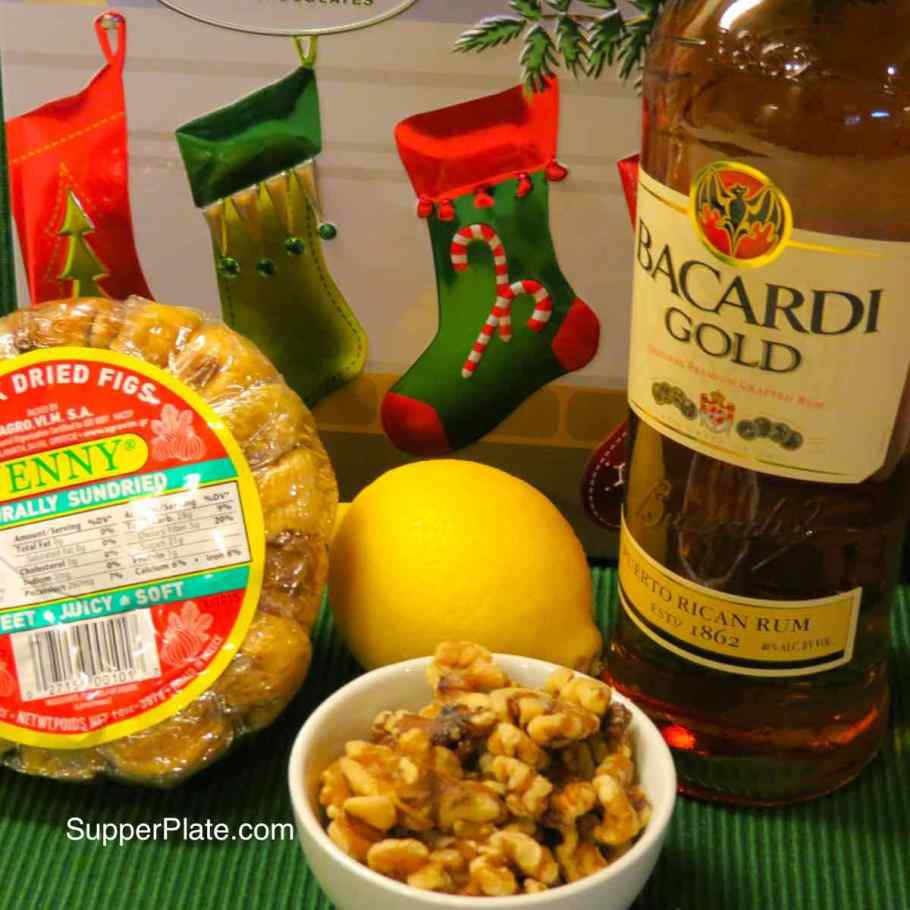 Figgy Pudding Ingredients