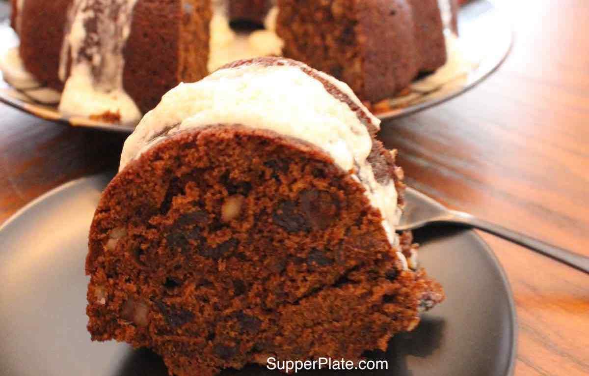 Figgy Pudding served