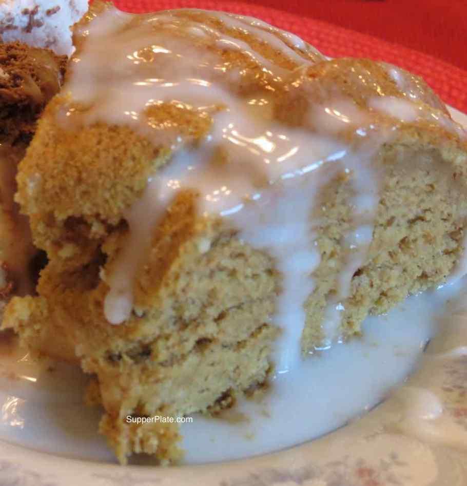 Pumpkin Spice Cake Closeup