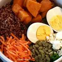 Kale Sweet Potato Salad