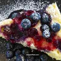 Lemon Blueberry Cake in the Microwave with Cooking Video