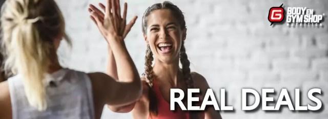 body en gymshop aanbiedingen