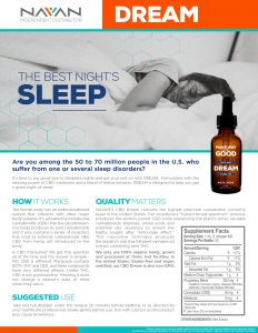 Quality sleep, better rest, non-drowsy wake!