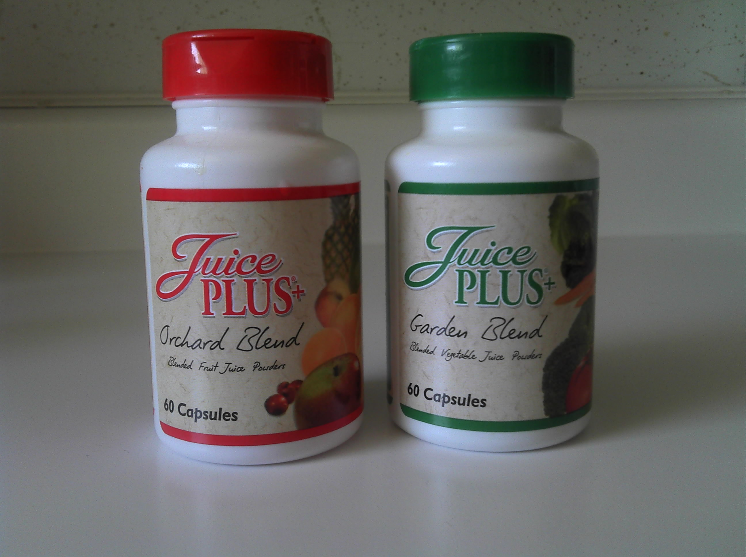 Juice Plus bottles