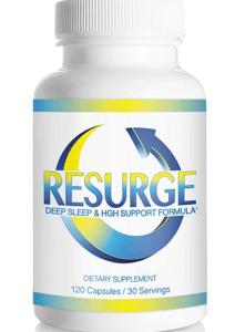 Resurge weight loss HGH sleep supplement
